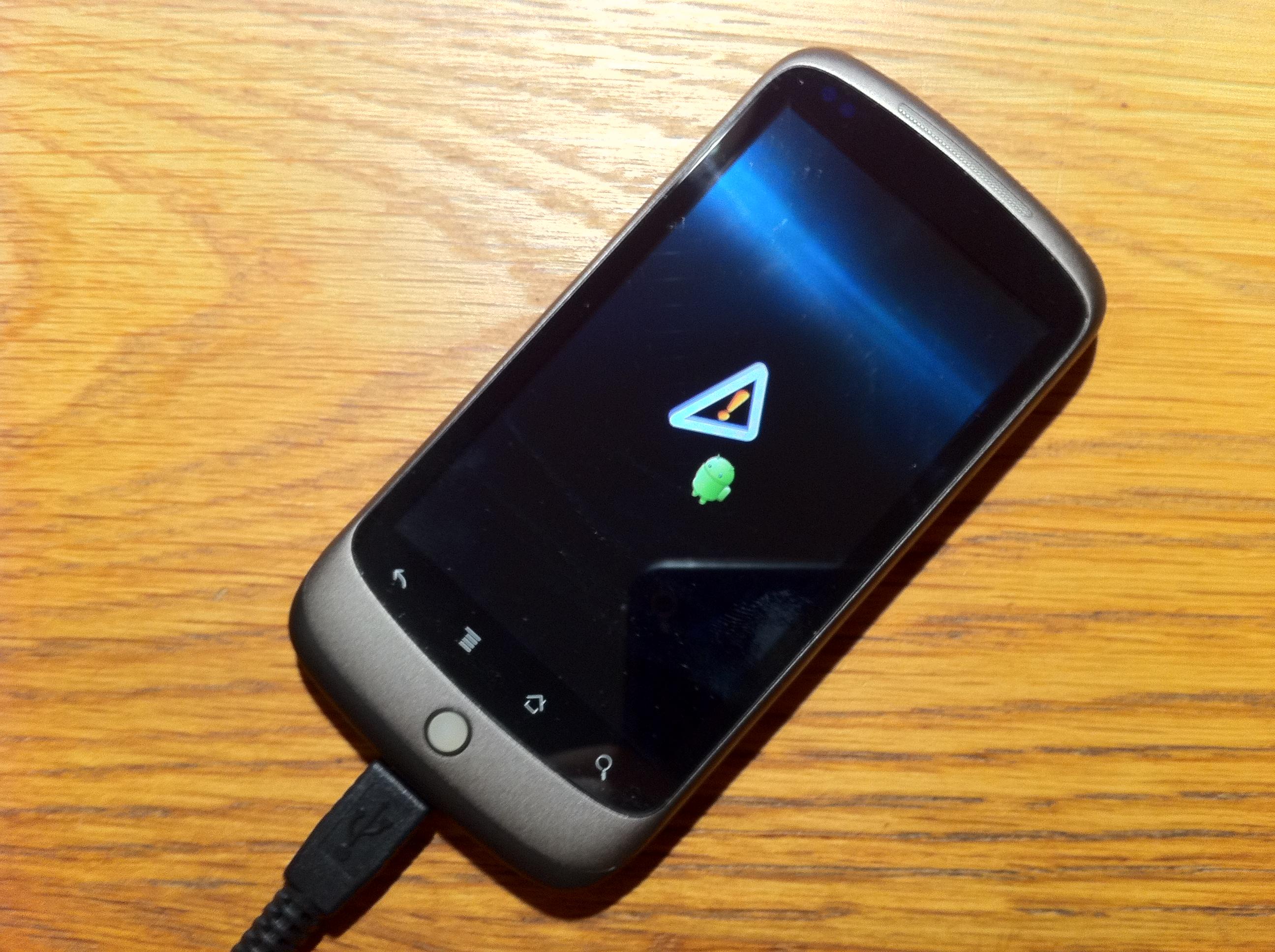 Nexus One Fail